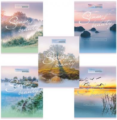 Тетрадь 96 л. HATBER VK, клетка, обложка мелованный картон, Sense of beauty, 96Т5C1, T269374 набор тетрадей hatber классика 12т5в2