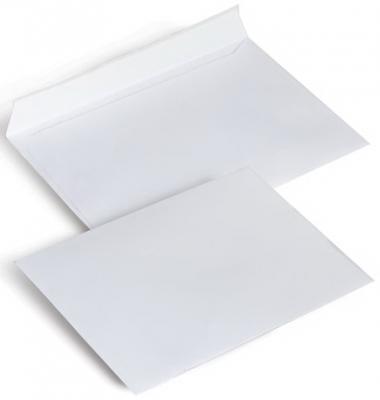 демисезонные конверты Конверты С6, комплект 1000 шт., отрывная полоса STRIP, белые, 114х162 мм