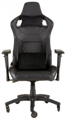 Кресло компьютерное игровое Corsair Gaming™ T1 Race 2018 Gaming Chair Black/Black CF-9010011-WW игровое кресло corsair gaming t1 race черно синий cf 9010004 ww