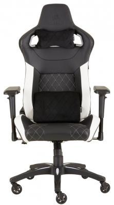 Кресло игровое Corsair Gaming T1 RACE 2018 белый чёрный (CF-9010012-WW) игровое кресло corsair gaming t1 race черно синий cf 9010004 ww