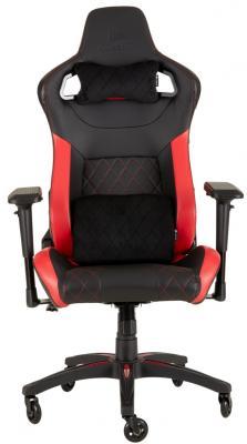 Кресло игровое Corsair Gaming T1 RACE 2018 чёрный красный (CF-9010013-WW) игровое кресло corsair gaming t1 race черно синий cf 9010004 ww