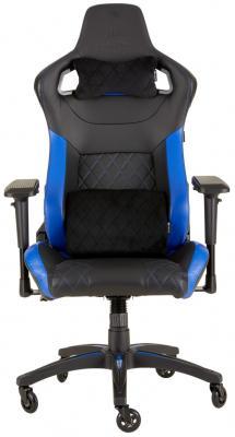 Кресло игровое Corsair Gaming T1 RACE 2018 чёрный синий (CF-9010014-WW) игровое кресло corsair gaming t1 race черно синий cf 9010004 ww