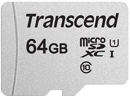 Флеш карта microSDXC 64Gb Class10 Transcend TS64GUSD300S w/o adapter цена