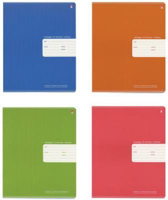 Тетрадь 12 листов, АЛЬТ, клетка, понтонная краска, Премиум металлик, 7-12-827/1 альт тетрадь пркмиум металлик 96 листов клетка цвет в ассортименте