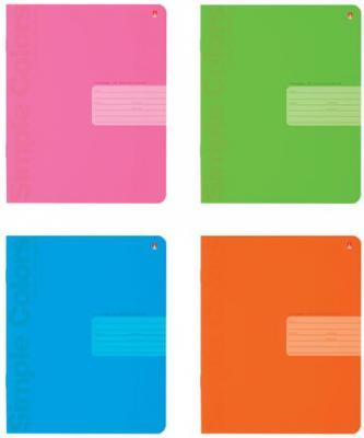 Тетрадь 18 листов, АЛЬТ, клетка, понтонная краска, выборочный лак, Простые цвета, 7-18-772/1