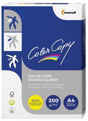 Бумага COLOR COPY GLOSSY, мелованная, глянцевая, А4, 200 г/м2, 250 л., для полноцветной лазерной печати, А++, Австрия, 138% (CIE), A4-27761 color copy glossy 135 г м2 320x450 мм