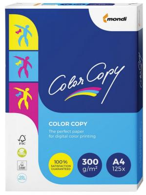 Бумага COLOR COPY, А4, 300 г/м2, 125 л., для полноцветной лазерной печати, А++, Австрия, 161% (CIE), A4-26747
