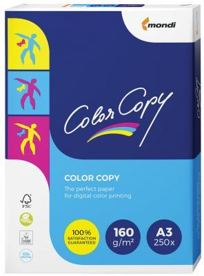 Бумага COLOR COPY, А3, 160 г/м2, 250 л., для полноцветной лазерной печати, А++, Австрия, 161% (CIE), A3-7268 бумага color copy большой формат 297х420 мм а3 200 г м2 250 л для полноцветной лазерной печати а австрия 161% cie a3 7158 1 шт