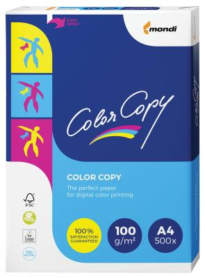 Бумага COLOR COPY, А4, 350 г/м2, 125 л., для полноцветной лазерной печати, А++, Австрия, 161% (CIE) color copy 350 г м2 297x420 мм