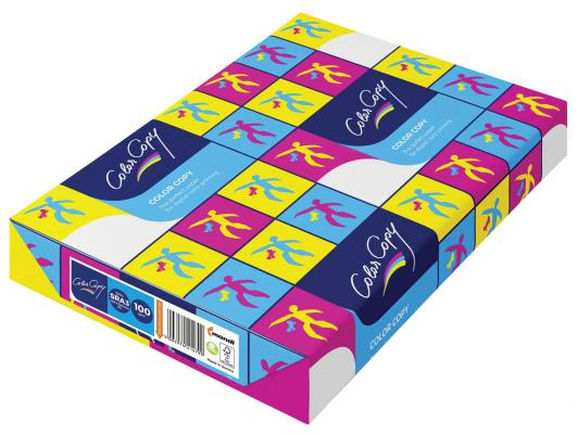 Бумага COLOR COPY, SRА3, 160 г/м2, 250 л., для полноцветной лазерной печати, А++, Австрия, 161% (CIE)