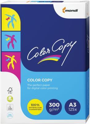 купить Бумага COLOR COPY, А3, 300 г/м2, 125 л., для полноцветной лазерной печати, А++, Австрия, 161% (CIE) по цене 1240 рублей