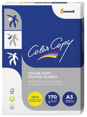 купить Бумага COLOR COPY GLOSSY, мелованная, глянцевая, А3, 170 г/м2, 250 л., для полноцветной лазерной печати, А++, Австрия, 138% (CIE) по цене 1720 рублей