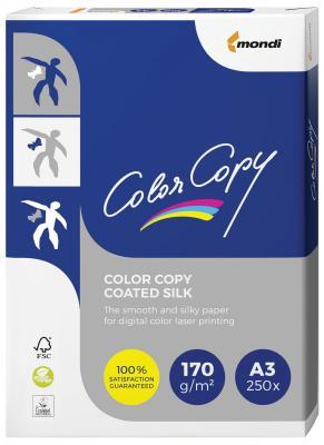 Фото - Бумага COLOR COPY SILK, мелованная, матовая, А3, 170 г/м2, 250 л., для полноцветной лазерной печати, А++, Австрия, 138% (CIE) бумага color copy silk мелованная матовая а4 170 г м2 250 л для полноцветной лазерной печати а австрия 138% cie