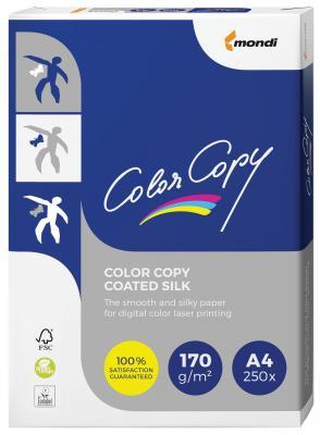 купить Бумага COLOR COPY SILK, мелованная, матовая, А4, 170 г/м2, 250 л., для полноцветной лазерной печати, А++, Австрия, 138% (CIE) по цене 900 рублей