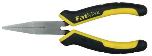 """Stanley плоскогубцы комбинированные """"fatmax flat nose"""" 150мм (0-84-495) stanley dynagrip 150мм 0 84 053"""