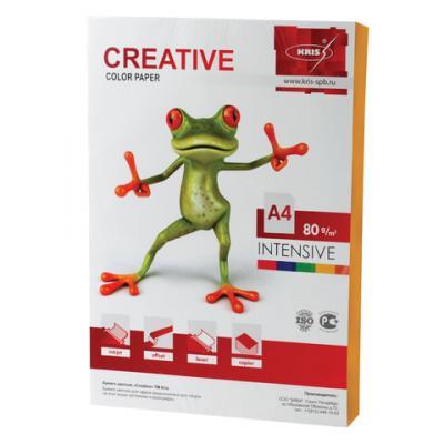 Цветная бумага Creative Креатив A4 100 листов creative comb