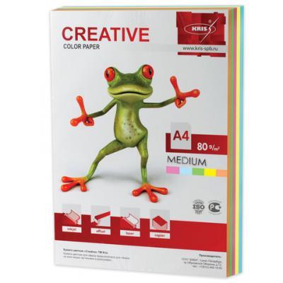 Цветная бумага Creative Креатив A4 250 листов creative comb
