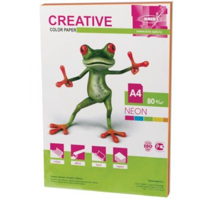 Цветная бумага Creative Креатив A4 50 листов