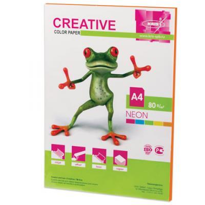 Цветная бумага Creative color A4 50 листов
