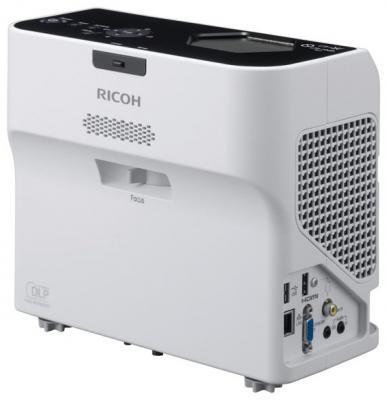 Фото - Проектор Ricoh PJ WX4152NI 1280x800 3500 люмен 13000:1 белый (432107) проектор ricoh pj s2440 800x600 3000 люмен 2200 1 белый черный