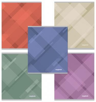 Тетрадь 48 л., ERICH KRAUSE, клетка, обложка мелованный картон, Soft Line (Абстракция), 35424 ластик erich krause art line extra soft