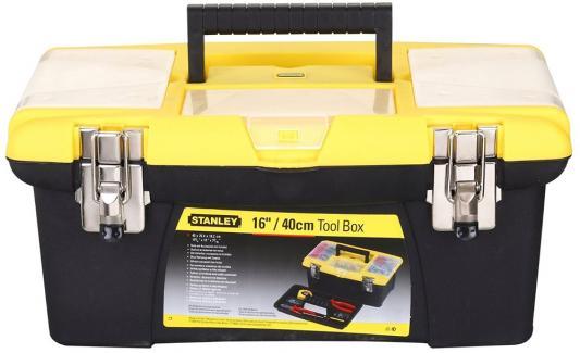 Stanley ящик для инструмента jumbo с 2-мя съемными органайзерами в крышке, отсеком для отверточных stanley ящик для инструмента 2000 с 2 мя встроенными органайзерами и металлическими замками пластм