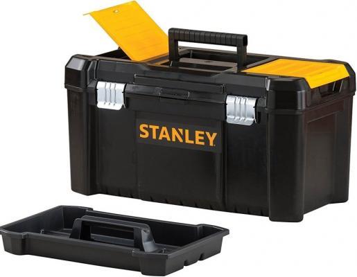 ЯЩИК Д/ИНСТ. ESSENTIAL TB МЕТ.ЗАМ 19 STST1-75521 Stanley ящик с органайзером stanley stst1 70317 55 6x32x24 9 см 19 черный