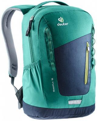 Купить РЮКЗАК STEPOUT 16 СИНЕ-ЗЕЛЕНЫЙ, Deuter, синий, зеленый, Super-Polytex / Macro Lite 210, Рюкзаки