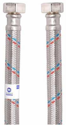 Подводка MATEU 13645 д/воды гигант 3/4 0.5м г-г резина нержавеющая сталь 16бар внутр. d13 цена 2017