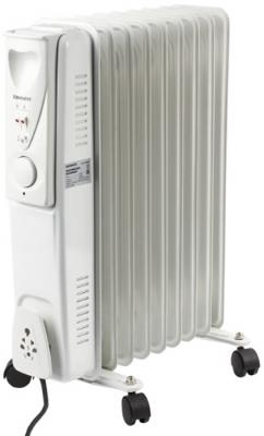 Обогреватель масляный SONNEN DFS-09, 2000 Вт, 9 секций, белый, 453499 биметаллический радиатор rifar рифар b 500 нп 10 сек лев кол во секций 10 мощность вт 2040 подключение левое