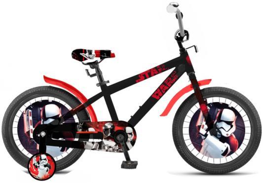Велосипед Disney Star Wars 18 черно-красный ВН18100 велосипед двухколёсный top gear kinetic 110 18 черно красный вн26248н