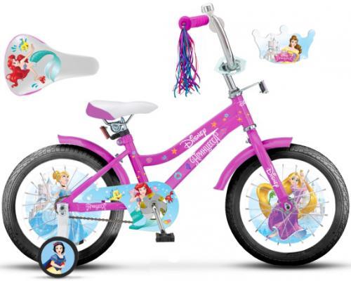 Велосипед Disney Принцесса 18 розовый ВН18104