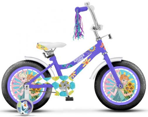 """Велосипед Disney Холодное сердце 18"""", фиолетовый ВН18105"""
