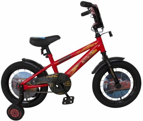 Купить Велосипед Disney Тачки 14 красный ВН14184, Двухколесные велосипеды для детей