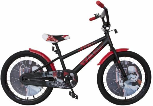 Велосипед Disney Star Wars 20 черно-красный ВН20191 велосипед двухколёсный top gear kinetic 110 18 черно красный вн26248н