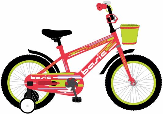Велосипед Navigator BASIC 12 красный ВН12130 цена