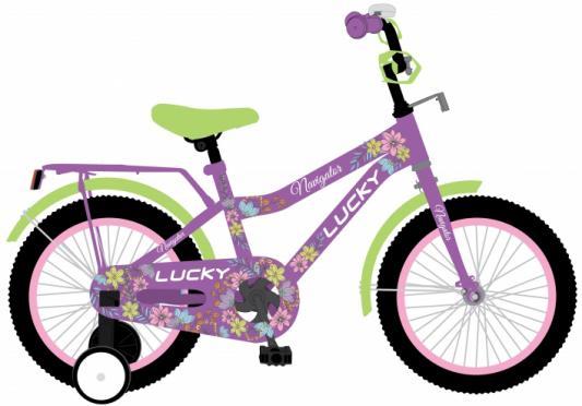 """Велосипед Navigator LUCKY 12"""", фиолетовый ВН12131"""