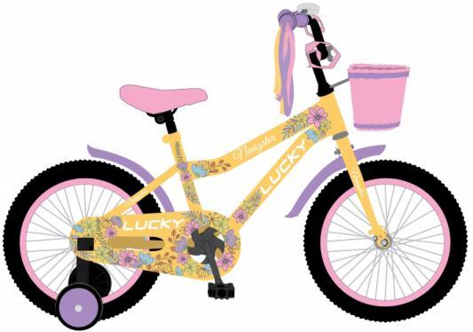 Купить Велосипед Navigator LUCKY 12 желтый ВН12133, Двухколесные велосипеды для детей