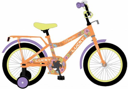 """Велосипед Navigator LUCKY 14"""", оранжевый ВН14174"""