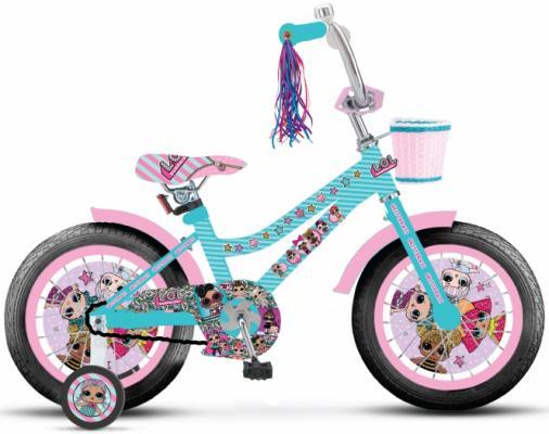 Купить Велосипед Navigator LOL 14 голубой ВН14187, Двухколесные велосипеды для детей
