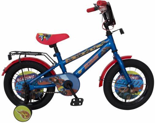 """Велосипед Navigator Вспыш 14"""" синий ВН14188 велосипед навигатор супермен цвет красный синий navigator"""