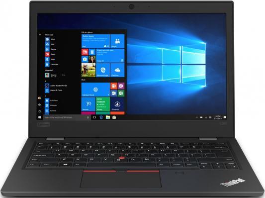 Ноутбук Lenovo ThinkPad L390 Core i5 8265U/4Gb/SSD256Gb/13/TN/HD/Free DOS/black/WiFi/BT/Cam