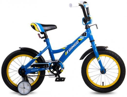 """Велосипед Navigator Bingo 14"""" синий ВМ14190 велосипед навигатор супермен цвет красный синий navigator"""