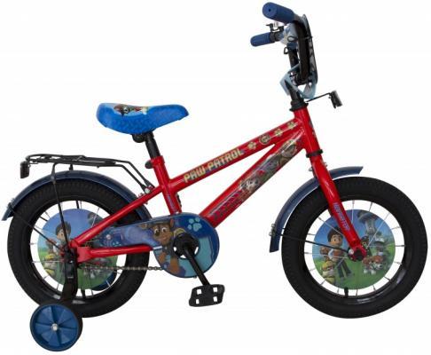 """Велосипед Navigator Щенячий патруль 14"""" красный ВН14186 велосипед навигатор супермен цвет красный синий navigator"""