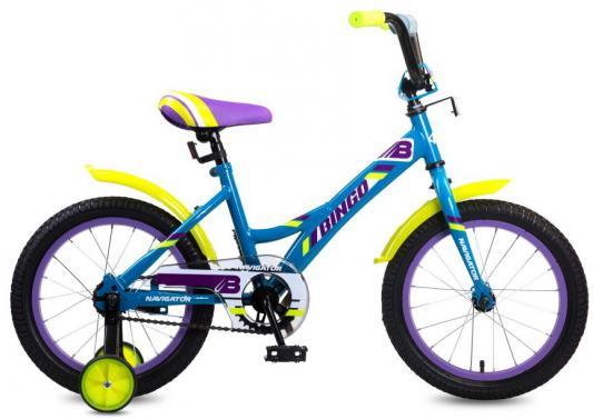 Купить Велосипед Navigator Bingo 16 фиолетово-голубой ВМ16138, Двухколесные велосипеды для детей