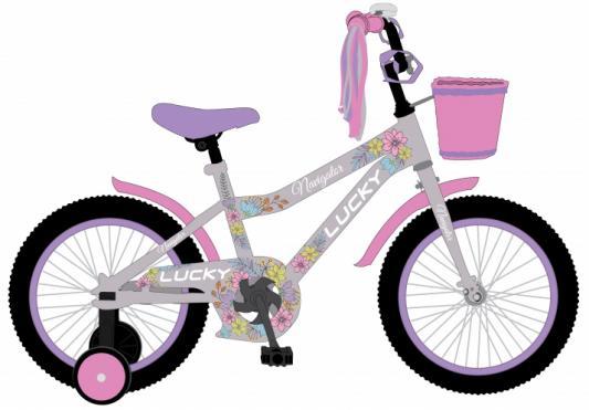 """Велосипед Navigator LUCKY 18"""", розово-фиолетовый ВН18096"""