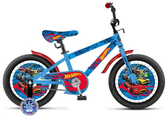 Велосипед Navigator Hot Wheels 18 голубой ВН18102 велосипед navigator hot wheels 16 1 скорость