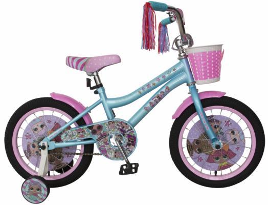 Купить Велосипед Navigator LOL 18 голубой-розовый ВН18106, Двухколесные велосипеды для детей