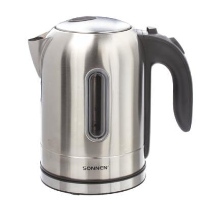 Чайник электрический Sonnen KT-1755 2200 Вт Нержавеющая сталь 1.7 л нержавеющая сталь чайник sonnen kt 115