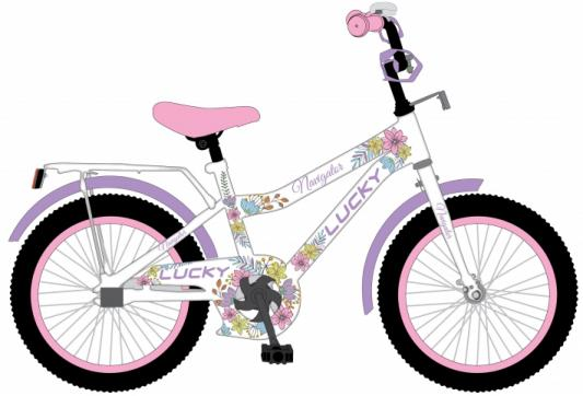 "Велосипед Navigator LUCKY 20"", белый ВН20185"